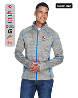 Men's Melange Bonded Fleece Jackets