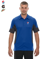 Men's Refresh UTK cool logik  Coffee Performance Mélange Jersey Polo