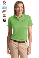 Ladies Poly-Bamboo Charcoal Blend Pique Polo