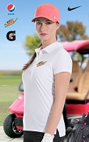 Ladies Nike Precision Emboss Polo
