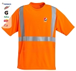 High Visibility 100% polyester Wicking Shirt - Pepsi