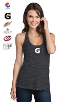 District® - Juniors Tri-Blend T-Back Tank