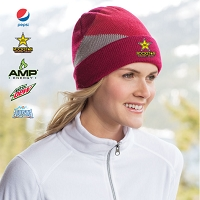 Cuffed Colorblock Beanie