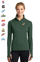 Ladies' Stretch 1/2-Zip Pullover