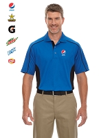 Men's Fuse Snag Protection Plus Colourblock Polo