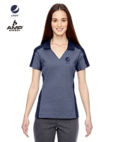 Ladies' Merge Cotton Blend Mélange Polo