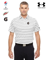 Men's Under Armour Tech Stripe Polo