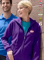 Ladies' Missy Fit Full Zip Hooded