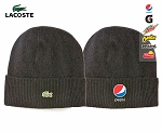 Lacoste Men's Jersey Blend Turned edge Beanie