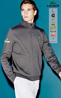 Lacoste Sport Full Zip Fleece Sweatshirt