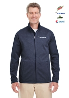 Men's Newbury Colorblock Mélange Fleece Full-Zip