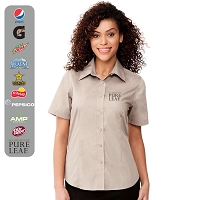 Ladies' COLTER Short Sleeve Shirt