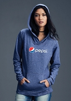 Women's Hooded French Terry - Pepsi