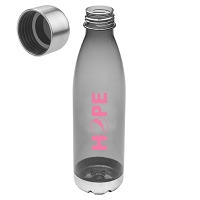 25 oz. Translucent Water Bottle - HOPE