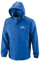CLIMATE CORE365TM MEN'S SEAM-SEALED LIGHTWEIGHT VARIEGATED RIPSTOP JACKET - Aquafina