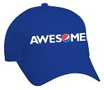 Comfort Zone Twill Cap - Royal - Awesome