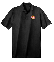 Deluxe Dri Fit Polo - Unisex (Black) - Lays