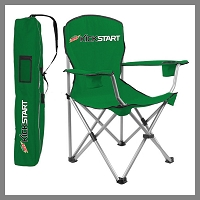 Camping Folding Chair with Carry Bag - MTN Dew Kickstart
