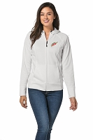 Ladies Rival Tech Fleece Full-Zip Hooded Jacket - MTN Dew