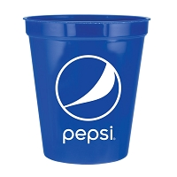 16 oz Short Stadium Cup - Pepsi