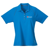 Ladies' Solway Short Sleeve Polo - Pepsi