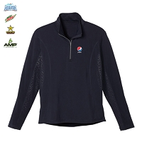 Men's caltech knit quarter zip