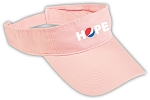 Twill Hope Visor - Awareness