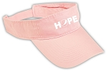 Twill Hope Visor - Awareness - HOPE