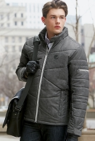 Men's Avant Tech Mélange Insulated Jacket with Heat Reflect Technology - Pepsi