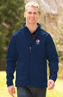 Men's Everyday Soft Shell Tall  Jacket - Pepsi