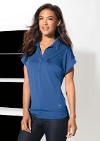 OGIO Microstrip Ladies' Polo - Pepsi