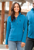 Ladies' Micro Fleece Full Zip Jacket - Pepsi