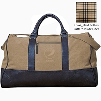 Kensington Executive Duffle Bag - Pepsi - Khaki