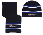 Hat and Scarf Combo - Pepsi