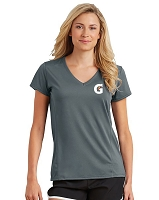 Ladies' V-Neck Tech T-Shirt