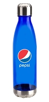 25oz Tritan Bottle with Stainless Base and Cap - Pepsi