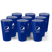 20oz Two Toned Plastic Cup - Pepsi