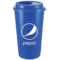 16 oz Double Walled Tumbler - Pepsi - FROM $2.15