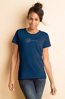 Ladies' Missy Fit T-shirt - Navy - Pepsi Bling