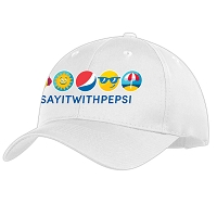 Summer Fun Version Cap - White