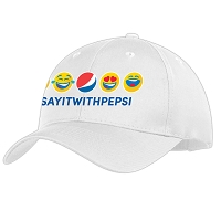 Happiness Version Cap - White