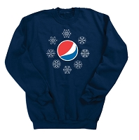 Crewneck Sweatshirt - Pepsi Globe -November Feature Item