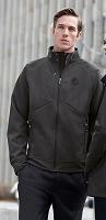 Men's 3-Layer Textured Two Tone Soft Shell Jackets