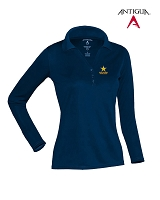 Antigua Golf Ladies' Exceed Long Sleeve Polo - Rockstar