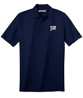 Deluxe Dri Fit Polo - Unisex (Navy)  - Share Joy