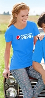 Ladies' Missy Fit T-shirt - Sapphire - #SAYITWITHPEPSI