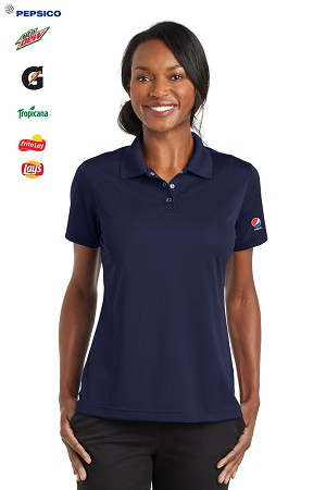Ladies The Beverages Industry 100% Polyester Micro Polo - Pepsi