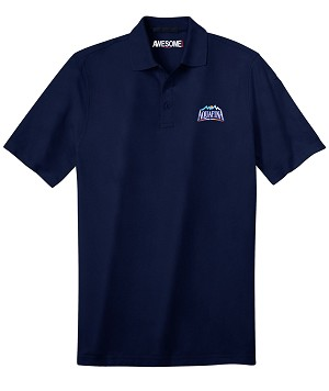 Deluxe Dri Fit Polo - Unisex (Navy)  - Aquafina