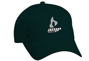 Comfort Zone Twill Cap - Amp Energy (Old Logo)