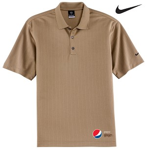 Nike Golf - Dri-FIT Textured Polo - Pepsi Ginger